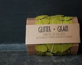 25' Paper & Thread Garland: Green