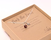 CHARM NECKLACE - Rock The Boat- simple charm jewelry