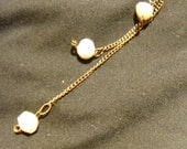Freshwater Pearl Extra Long Chain Earrings