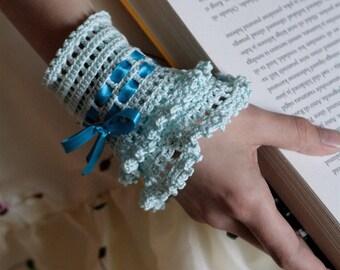 Crochet Layered Lace Cuff - PDF PATTERN
