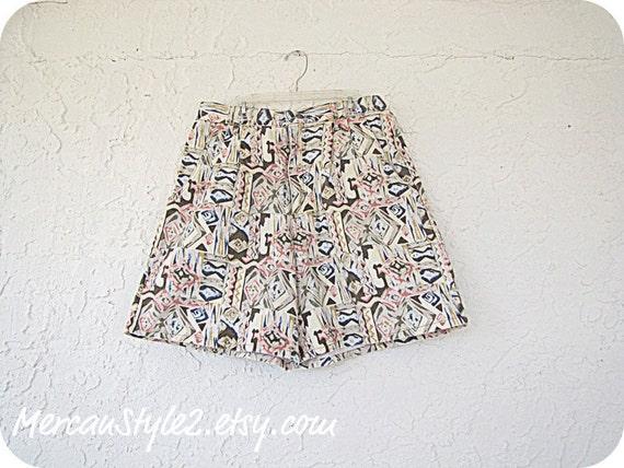 "high waisted 80s denim shorts Vintage (30"" waist)"