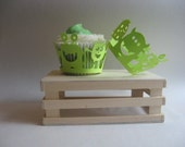 Super Cute Monster Cupcake Wrappers