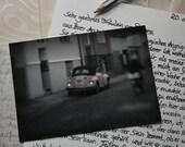 VW Beetle - Fine Art Photography Postcard