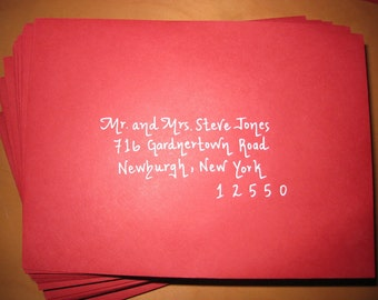 Envelope Addressing, Placecards, etc.