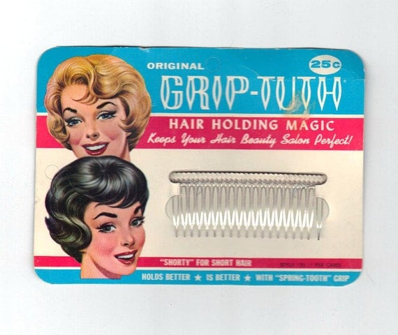 SALE 1950s Vintage Hair Combs Beauty Products Unused New | 570 x 480 jpeg 38kB