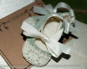 "AK DESIGNS ""Elegant Baby Shoes"" - Little  Annie"