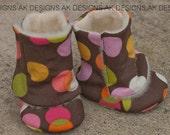 """AK DESIGNS """"Elegant Baby Shoes"""" - Little Allison."""