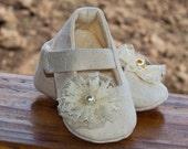"AK DESIGNS ""Elegant Baby Shoes"" - Little Kristina."