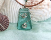Gulf Shore Recycled Glass Pendant