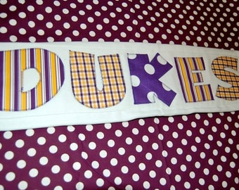 JMU Dukes Burp Cloth