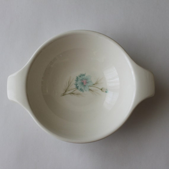 Taylor Smith Taylor Boutonniere Bowl 1950's Dishes Mid Century Shabby Chic Cottage Bowl