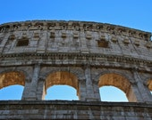 """Italy Photography, """"Roman Colosseum"""", Travel Photography, Architectural Photo, 10x16 Fine Art Print, Customizable Print Sizes"""
