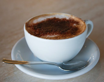 """Italy Photography, """"Italian Cappuccino"""" , Travel Photography, Kitchen Decor, Customizable Sizes Upon Request"""