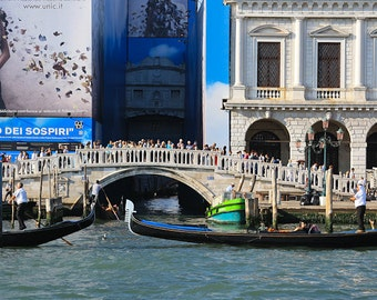 """Italy Photography, """"The Bridge of Sighs"""", Travel Photography, Venice, Metallic Finish Print, Customizable Sizes Upon Request"""