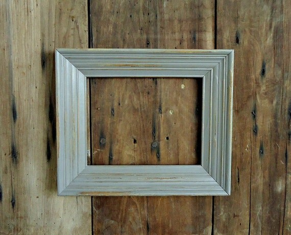 vintage picture frame wood wooden photo painted old empty grey. Black Bedroom Furniture Sets. Home Design Ideas