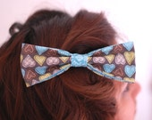 SALE- Hearts Hair Bow