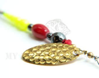 Red and Yellow Fishing Lure