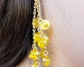 Cluster Lego Dangle Earrings