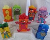 Sesame Street Party Centerpieces