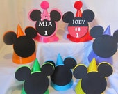 Mickey Mouse Clubhouse Birthday Party Hats 12 count