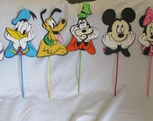 Mickey Mouse Clubhouse Centerpiece Character LARGE 10 inch Picks Party Kit 6 pieces
