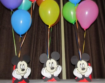 Mickey Mouse Party Centerpiece