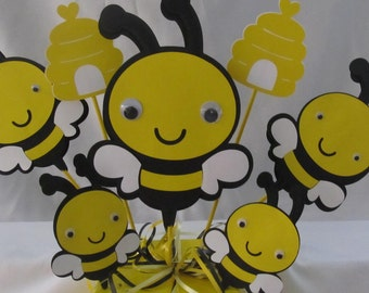 Bumble Bee Party Centerpiece   3-piece