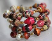 Kenyan Jewels Wrap Bracelet - Support Families