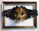 Winged Lion Leather Mask