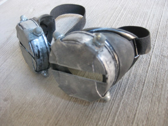 Steampunk Cyber Slitted Goggles