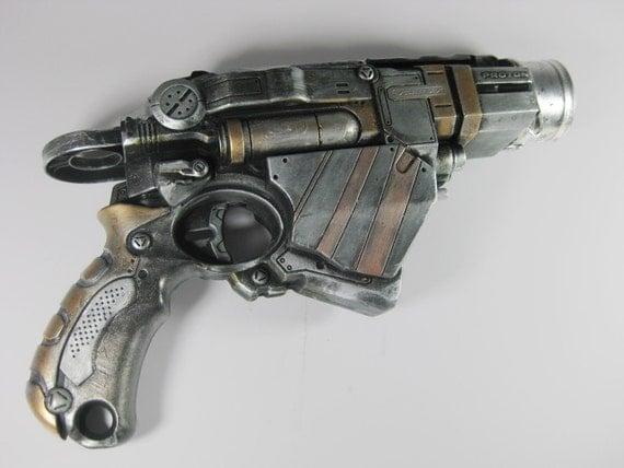 Steampunk Gun - The Timebender