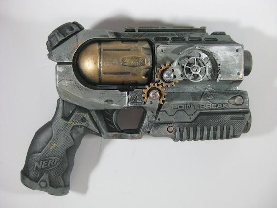 Steampunk Gun - The Seraphim Scattergun Revolver