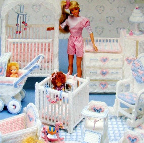 Barbie Plastic Canvas Nursery Pattern By Magnoliasewingbasket