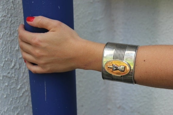 Jean Paul Gaultier perfume cuff bracelet