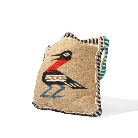 Light weight Kilim Purse Brown Shoulder Bag