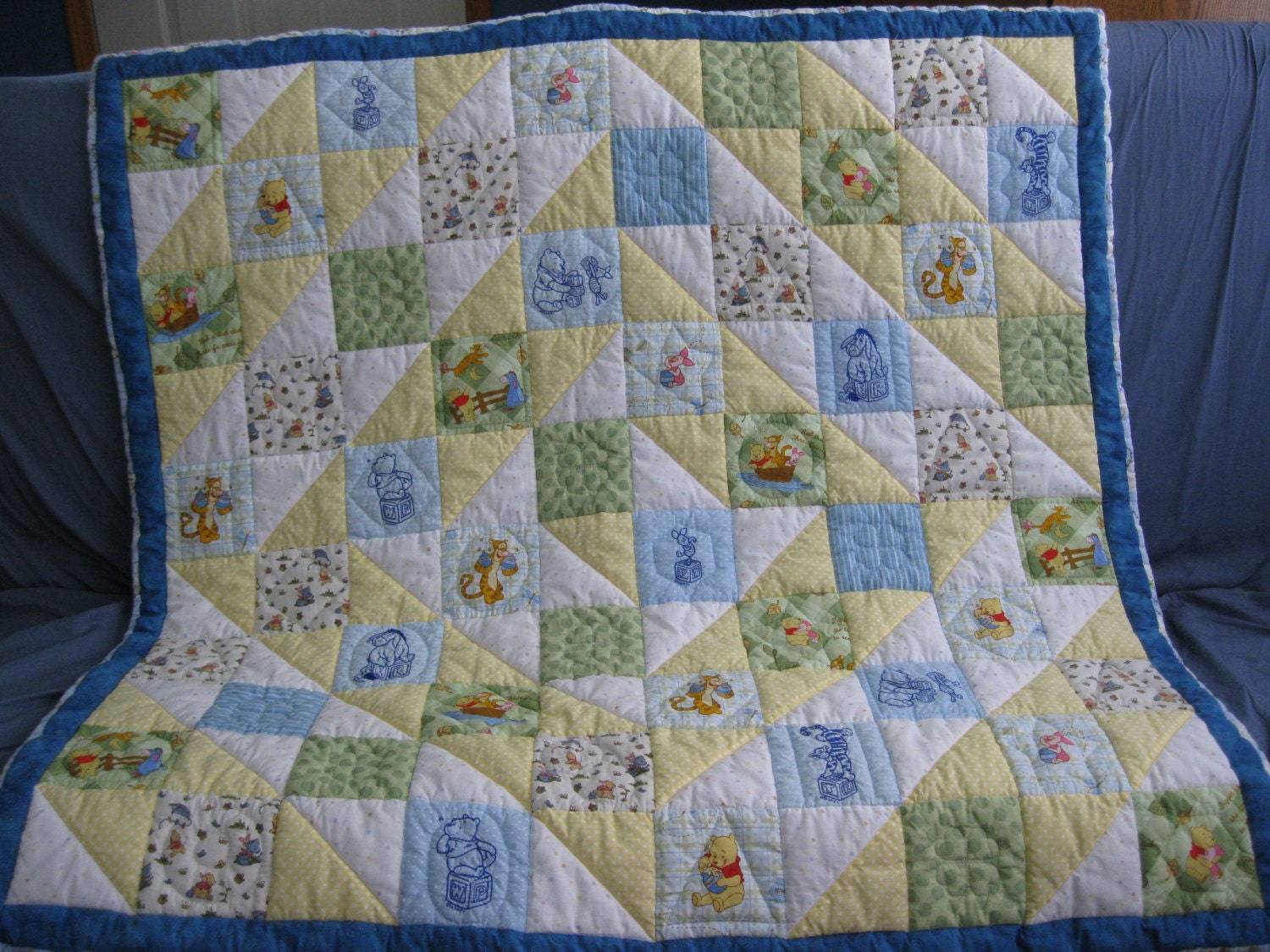 Classic Winnie The Pooh Quilt