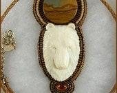 Totem Bear necklace