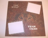 Twilight, Team Jacob Scrapbook Pages