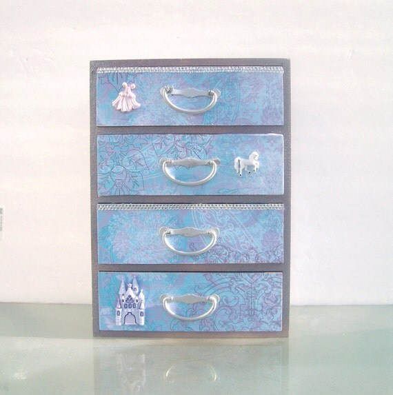 Purple Princess Jewelry Box