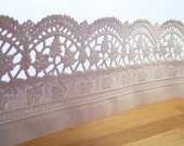 """Paper Doilies Lace Strips for Gift Wrapping, Decoration, Scrapbooking- 5( 3"""" x 40"""")"""