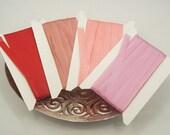 100% Pure Silk Ribbon Trim (7 mm- 1/4inch)- 5 yards