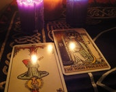 Full comprehensive 5 question Psychic Tarot Card Reading