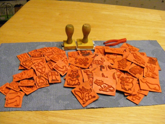 SALE Stamping Kit - Large Lot of Stamps