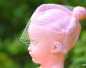 Birdcage Veil Bridal Birdcage Veil Wedding Blusher White Ivory