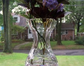 Vintage Waterford Crystal Vase / Collector's Vase / Gorgeous Heavy Cut Glass