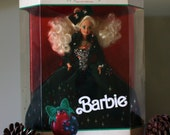 Vintage 1991 Holiday Barbie Doll Limited Edition (NRFB) Condition by Mattel