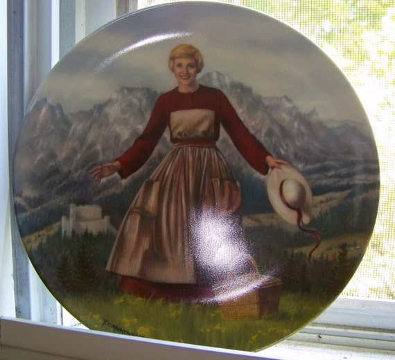 """Vintage """"The Sound of Music"""" 1986 Limited Edition Collector's Plate"""