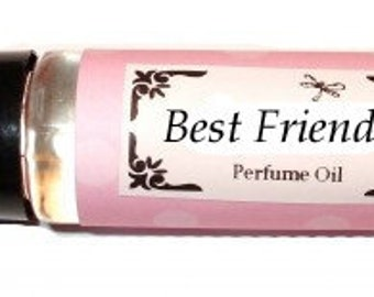 BEST FRIENDS - Roll on Premium Perfume Oil - 2 sizes to choose from - 1/3 oz or 1/6 oz -  boysenberry, elderberry, strawberry, pomegranate