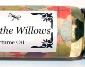 WIND In The WILLOWS - Roll on Perfume Oil - 2 sizes to choose from - 1/3 oz or 1/6 oz -  bergamot, sweet orange, and crisp apple