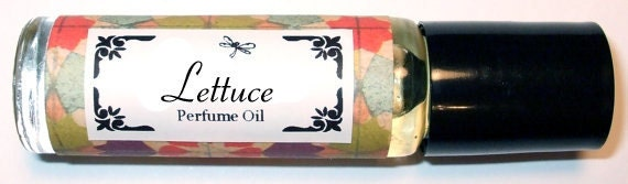 LETTUCE Roll on Perfume Oil - Yes, I know what your thinking Trust Me You'll Love It